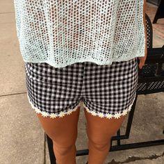 fortuityinc - Daisy Trim Shorts, $19.00 (http://www.fortuityusa.com/daisy-trim-shorts/)