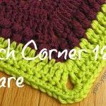 French corner crochet