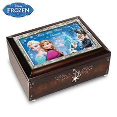 Disney FROZEN Music box, my daughter would love this music box.