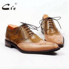Fair price cie Pointed Full Brogues High Quality Bespoke Men Leather Shoe Custom Handmade Brown Mixed Colors Leather Breathable OX444    just only $168.00 with free shipping worldwide  #menshoes Plese click on picture to see our special price for you