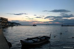 Thassos or Limena at sunset, Greece #idowhatiwanto