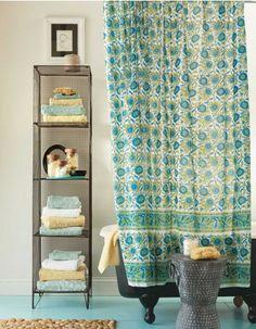 Sea Bloom Shower Curtain - VivaTerra