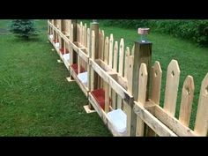 Pallet fence, most beautiful on You Tube - YouTube