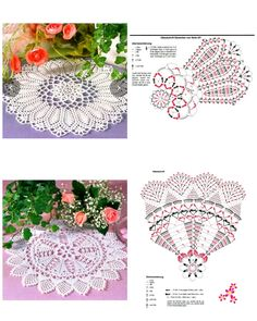 Crochet Mandala, Crochet Doilies, Crochet Lace, Crochet Diagram, Crochet Patterns, Crochet Collar, Thread Crochet, Dream Catcher, Diy And Crafts