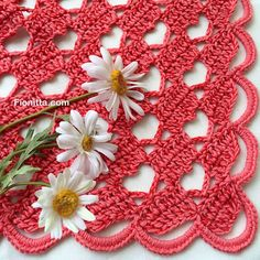 "Shawl "" Hello March with hearts"" By Fionitta"