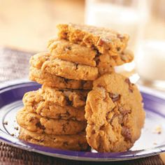 Pecan Butterscotch Cookies Recipe from Taste of Home