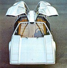 1970 Porsche Tapiro Concept.