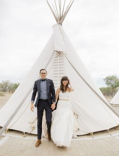 michelle + tyler   Contessa Gown from BHLDN   brooke schwa photography   via: green wedding shoes   #BHLDNbride