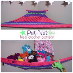 Pet Net - Free Stitch11 Crochet Pattern