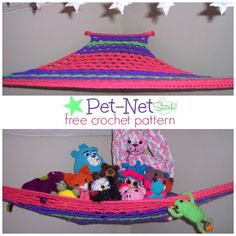 Pet Net - Free Stitch11 Crochet Pattern