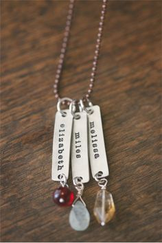 On SALE for $16 when you use code momlove at checkout! Shop for mom TODAY! #lisaleonarddotcom #love #handstamped
