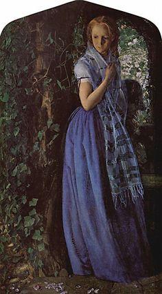Arthur Hughes. April Love 1856
