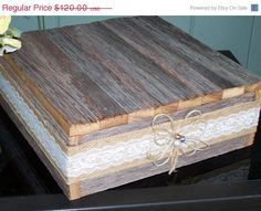 On Sale wedding cake stand rustic 21x21 cupcake by primitivearts