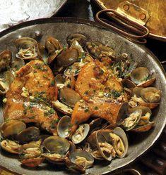 Perdizes com Amêijoas na Cataplana - Gastronomia de Portugal