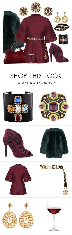 """""""It's my prerogative"""" by ellenfischerbeauty ❤ liked on Polyvore featuring Chanel, Michael Kors, Rochas, Valentino, Lorraine Schwartz and Nordstrom"""