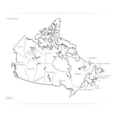 Geography for Kids: FREE printable Map of Canada Canada For Kids, All About Canada, Geography For Kids, World Geography, 4th Grade Social Studies, Teaching Social Studies, Printable Maps, Free Printable, Teaching Maps