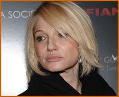 Ellen Barkin - love her hair