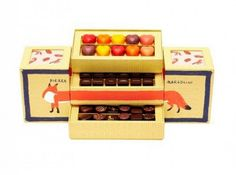 Pierre Marcolini x Maison Kitsuné Collection – A Bento Box Full Of Chocolates Belgian Chocolate, Chocolate Box, Chocolates, Pierre Marcolini, Dessert Packaging, Macaron Packaging, Packaging Boxes, Wallpaper Magazine, Chocolate Packaging