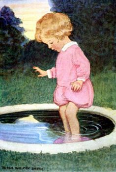 the pool--Jessie Wilcox Smith
