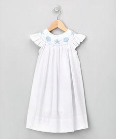Seaside baby dress. Love!