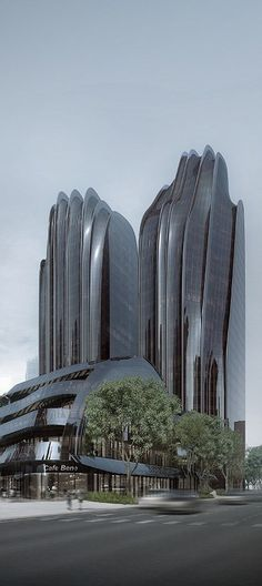 Chaoyang Park Plaza, Beijing, China by MAD Architects