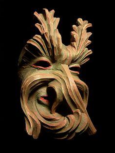Fasnacht mask.