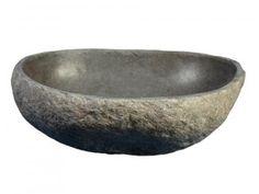 vasque poser en pierre naturelle galet de rivi re mobiliers pinterest vasque pierre. Black Bedroom Furniture Sets. Home Design Ideas