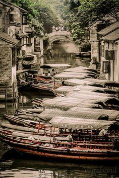 amanaboutworld:  Zhouzhuang Water Village - China