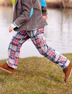 They'd look great in these- V.Cool I've spotted this Brushed Tartan Cargos Baby Boy Outfits, Kids Outfits, Cool Outfits, Boys Pants, Jeans Pants, Little Boy Fashion, Kids Fashion, Boys Winter Clothes, Boyish Style