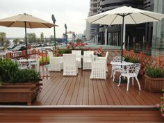 outdoor wood plastic composite floor、wood plastic flooring dealer