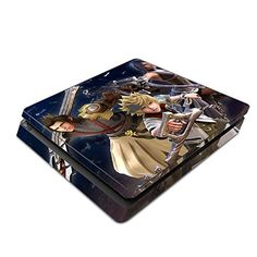 Decorative Video Game Skin Decal Cover Sticker for Sony PlayStation 4 Slim Console PS4  Kingdom Hearts Birth by Sleep >>> You can get more details by clicking on the image.Note:It is affiliate link to Amazon.