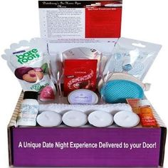 At Home Spa Date Night in a box