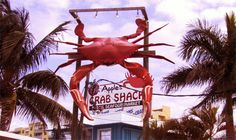 Apple's Crab Shack, Merritt Island, Florida- Can't wait to try this place out!!! State Of Florida, Florida Travel, Merritt Island Florida, Crab Shack, Cape Canaveral, Cocoa Beach, Disney Cruise, Back Home, Summer 2015