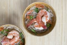 Thai Glass Noodle Salad with Prawns