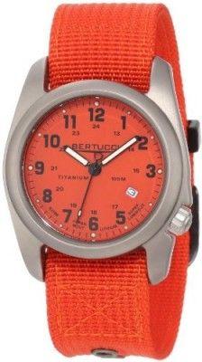 Relógio Bertucci Men's 12067 A-2T Original Classics Durable Titanium Field Watch #Relógio #Bertucci