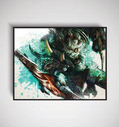 League of Legends Rengar Art Print 11 x 14/ 8 x by DesignersJuice