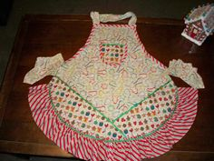 Baking Cookies Apron by whimseycottage on Etsy, $25.00