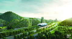 « Liuzhou Forest City »  sera un véritable paradis de biodiversité, une jungle habitable où la nature et les humains coexistent, tout en jouissant d'une infrastructure moderne et des avantages d'une grande ville