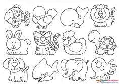 Evde Keçeden Hayvan Figürleri Yapmak İçin Şablon Bu yazımda sizlere keçeden hayvan figürleri yapabilmeniz için hazır hayvan şablonları paylaşacağım. Şablonu yazıcıdan çıktı alabilir ve keçeden hayv…