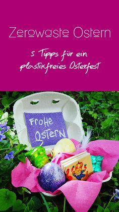 Ostern kann man jede Menge Plastik sparen. Wie wäre es dieses Jahr mal mit einem Zerowaste Osterfest? Hier gibt es Tipps für ein nachhaltiges Osternest ganz ohne unnötige Plastikverpackungen.
