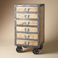 What a cool piece of furniture! You could totally organize something is this bad boy.