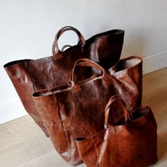 I would feel like I was carrying a horse saddle, but it would feel so good! :) LOVE these bags!