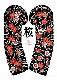 I incredibly love the shades, outlines, and depth. This is definitely a fantastic idea if you would like a Japanese Flower Tattoo, Japanese Dragon Tattoos, Japanese Tattoo Designs, Japanese Sleeve Tattoos, Flower Sleeve, Flower Tattoo Shoulder, Japan Tattoo, Manga Florida, Asian Tattoos