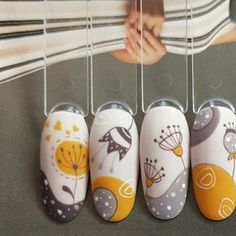Metallic Nails, Cute Acrylic Nails, Gel Nail Art, Nail Art Diy, Cute Nails, Nail Art Designs Videos, Nail Art Videos, Nail Designs, Manicure