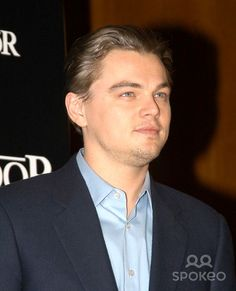 "Madrid, Spain 1-10-2005 Leo DiCaprio during a photocall for ""The Aviator"" Digital Photo by Edu Nividhia-PHOTOlink.org"