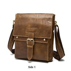 048463da56 Genuine Leather Messenger Crossbody Shoulder Bag 2018 wholesale men bag  FS2132