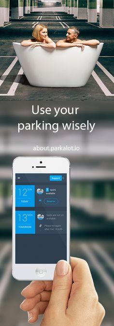 App for organisation's parking management