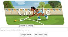 London 2012 hockey: Google's sixth Olympic doodle