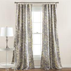 Lush Decor Forest Window Curtain Panel Pair