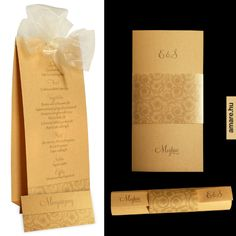 treasure gold wedding collection